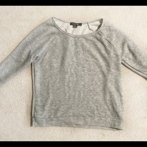Must Go! 2/$10 Forever 21 Heather Gray Sweatshirt